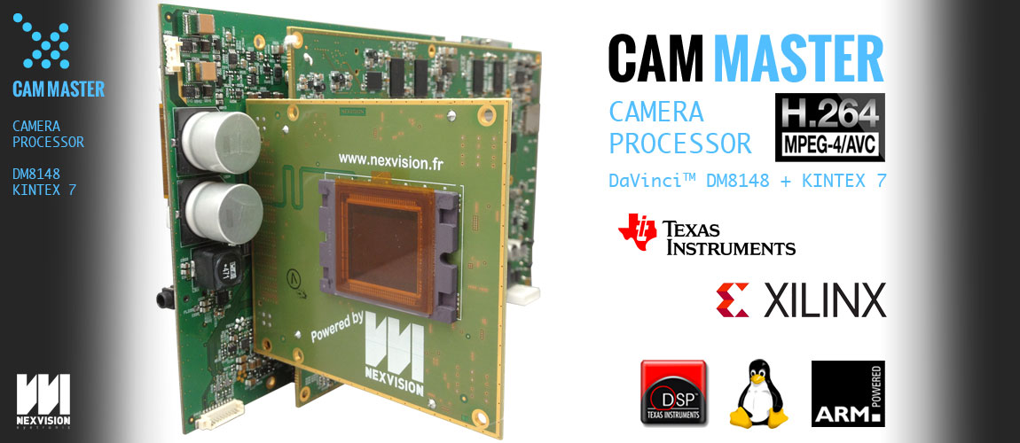 Cam master reference design camera