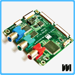 HD analog RGB components reference design