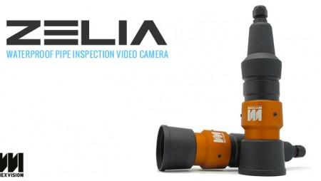 Waterproof pipe inspection video camera – Zelia