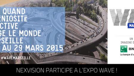 Nexvision participe à l'expo Wave 2015 à Marseille