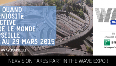 Nexvision takes part in the Marseille Wave Expo