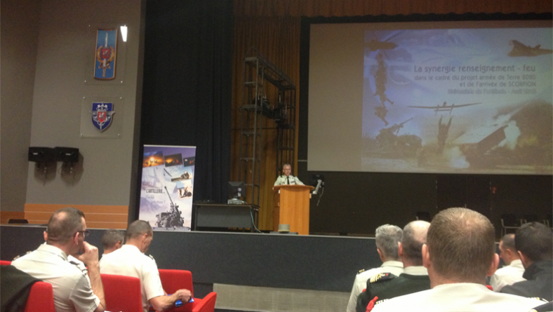 Nexvision takes part in 2015 artillery universities