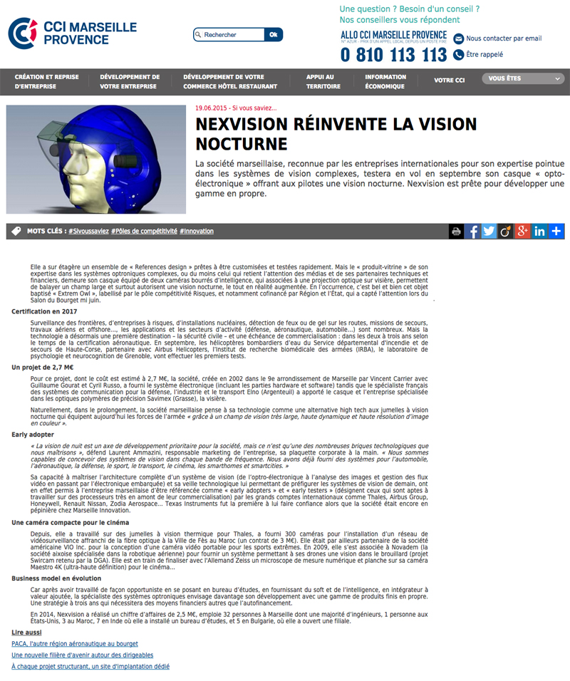 Nexvision reinvents night vision