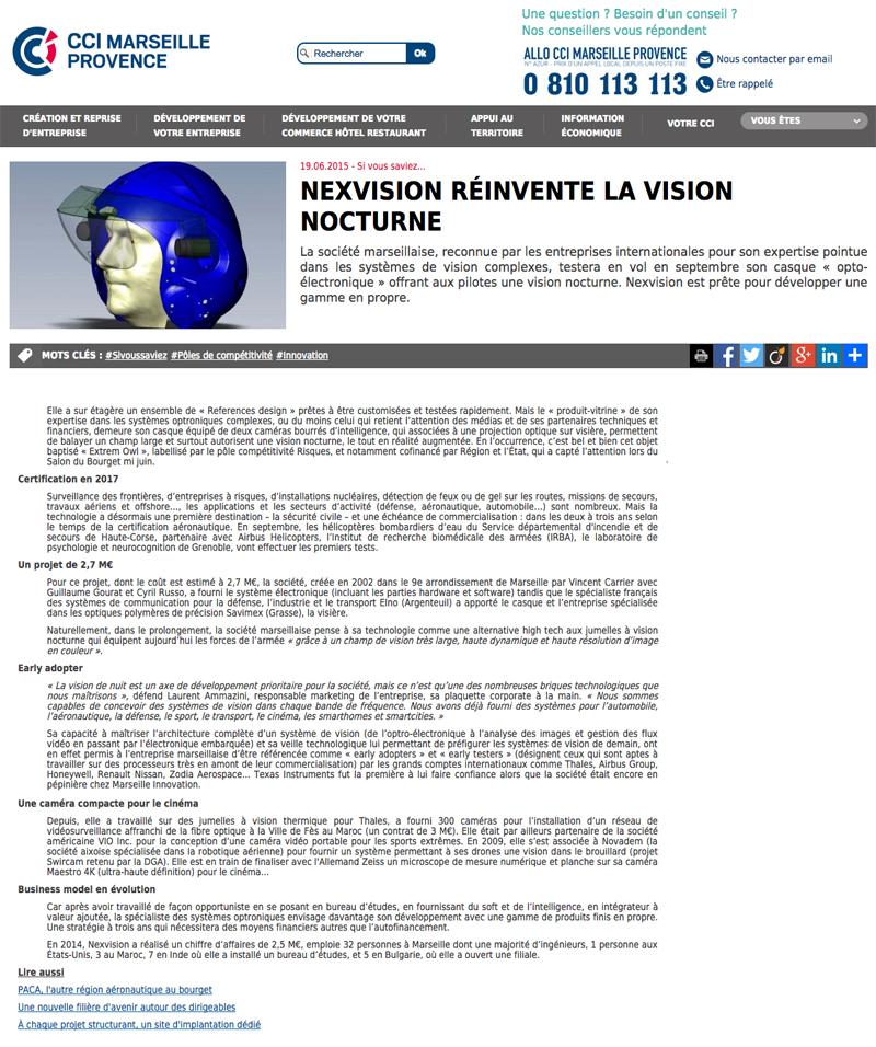 Nexvision reinvents night vision