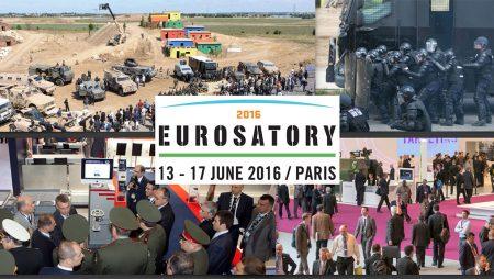 Venez nous rencontrer sur le salon Eurosatory du 13 au 17 juin à Paris