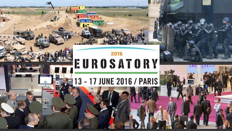 Visit us at the Eurosatory exhibition from 13-17 June in Paris