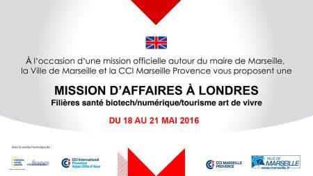 Nexvision participe à la mission B2B à Londres avec la ville de Marseille
