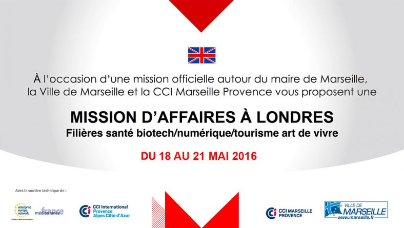 Nexvision is taking part in the B2B mission in London with the city of Marseille