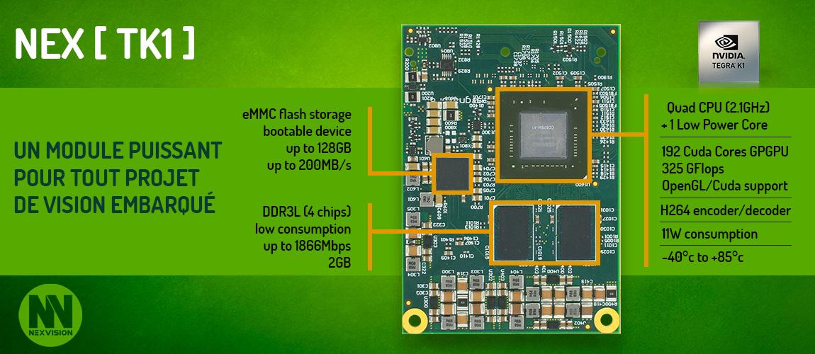 Module Nvidia Tegra K1 board