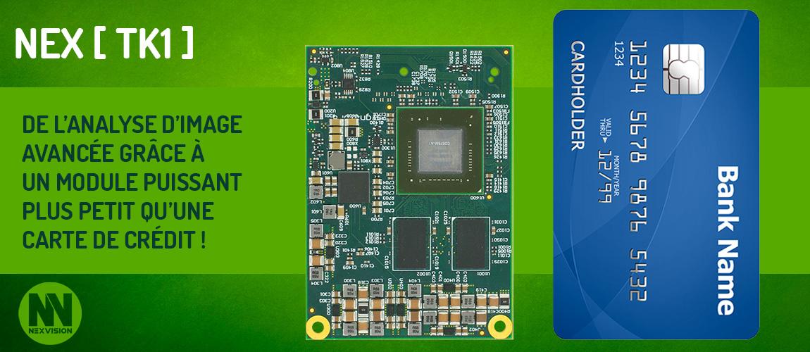 Module Nvidia Tegra K1 board Image Analysis