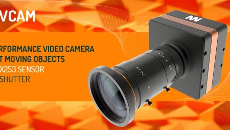 MOOVCAM : High performance video camera for fast moving objets