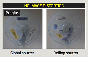 Sony pregius imx253 global shutter sensor