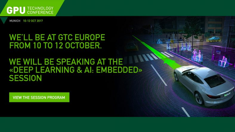 Nexvision will be present at Munich for the NVIDIA GTC from 10 to 12 October