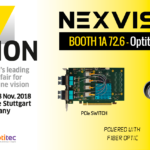 Visit us at VISION, the world's leading trade fair for machine vision | Stuttgart  | 06 to 08 November 2018