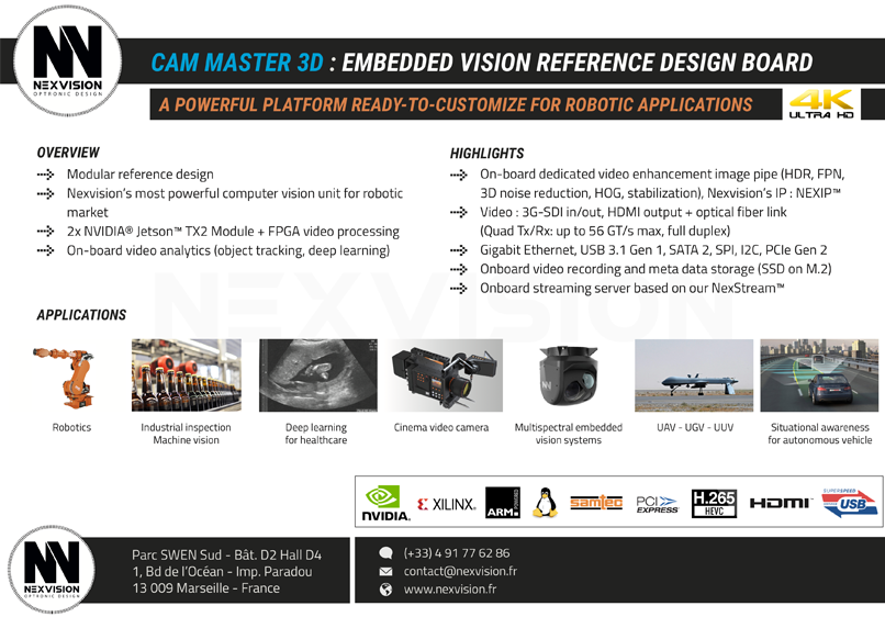 CAM MASTER 3D - Nexvision