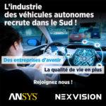"""Retrouvez nos offres d'emploi sur le esalon pôle emploi """"L'industrie des véhicules autonomes recrute dans le Sud"""""""